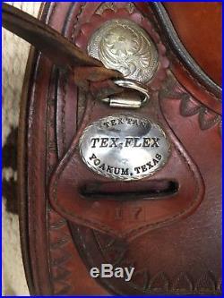 Tex Tan Flex Trail Saddle 17