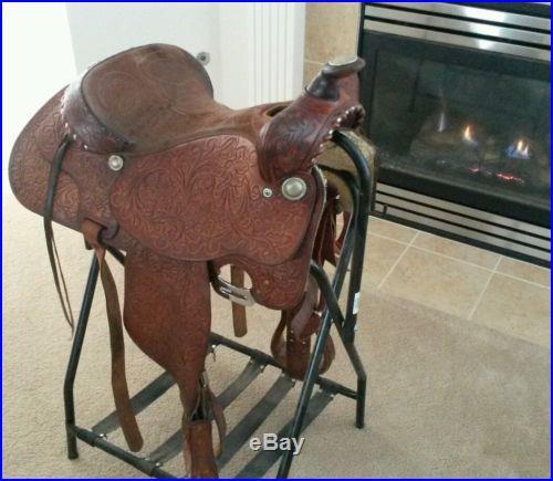 Tex Tan Roping Saddle