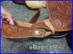Tex Tan Western Pleasure Silver Show Saddle AQHA Trophy
