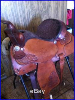 Tex Tan cutting /roping Saddle