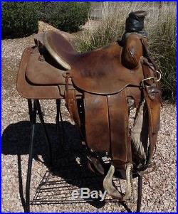 Todd McGiffin Hard Seat Roping Ranch Saddle 15 | Western Saddles