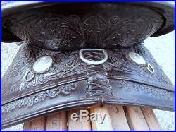 Tooled Circle Y Show Saddle Flex Lite Tree Very Clean Ready to Ride Condition
