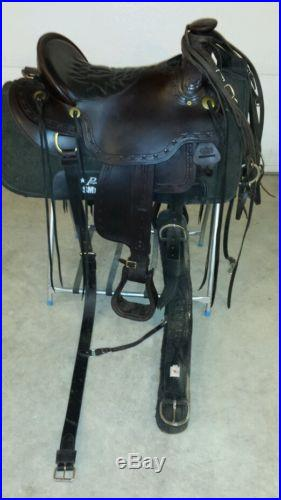 Tucker Cimmeron Gel Seat Trail Saddle w/ Air Ride Pad Bridle