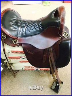 Tucker Equitation Endurance Equestrian Saddle