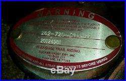 Tucker Gen II Trail 17.5 inches Saddle