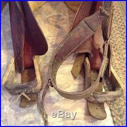 Used 15 Western roping saddle good quality / condition