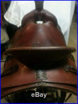Used 16 Mealor Saddle Shop Saddle Roping Cutting Reining Pleasure