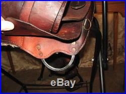 Used Dakota Barrel Racing Saddle 15 Inch Western Trail Pleasure Work NR