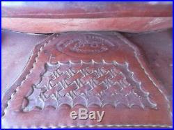 Used Roohide Saddlery 16 1/2 Seat Cutting Saddle -No Reserve
