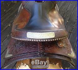 VINTAGE CIRCLE Y Equ WESTERN HORSE TRAIL SADDLE-16 NO RESERVE