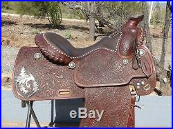 Victor Quality Show Saddle 15 Sterling Silver
