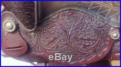 Vintage Rebel Brand Circle Y Saddle Beautiful Design 15