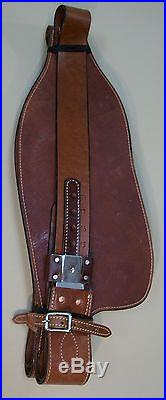 WESTERN HORSE SADDLE REPLACEMENT SADDLE FENDERS SET OF 2 MEDIUM BROWN COLOR