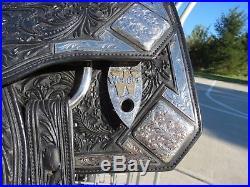 Wenger Western Saddle 16-1/2 inch FQHB
