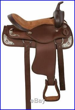 Western Horse Saddle-Barrel Trail Used 15 16 17 in Premium Tack Set Comfy Custom