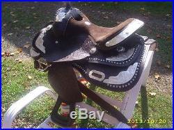 Western Pleasure Show Saddle