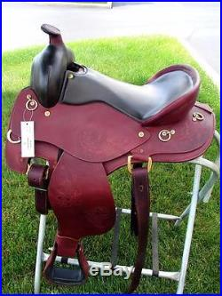 Western Pleasure Trail Ranch Horse Saddle 16 Endurance Mahogany CLOSEOUT