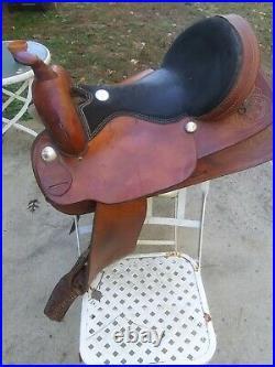 Western Saddle 17 Hand Made