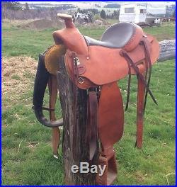 Western Saddle Colorado Saddlery Outfitter Mule or Horse 15