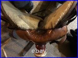 Western Saddle Hickman saddlery, Lady wade, 16 Seat