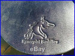 Western Synergist Lightweight Trail Saddle Black Leather
