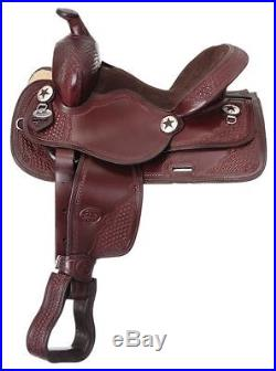 Youth Trail and All Around Saddle Black 14